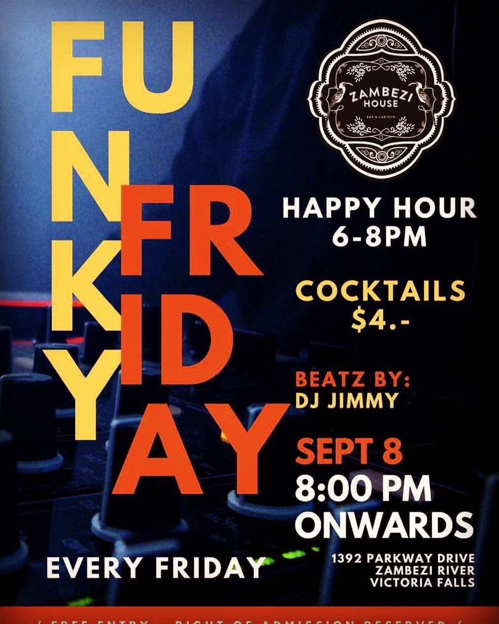 Funky Friday Sept 8