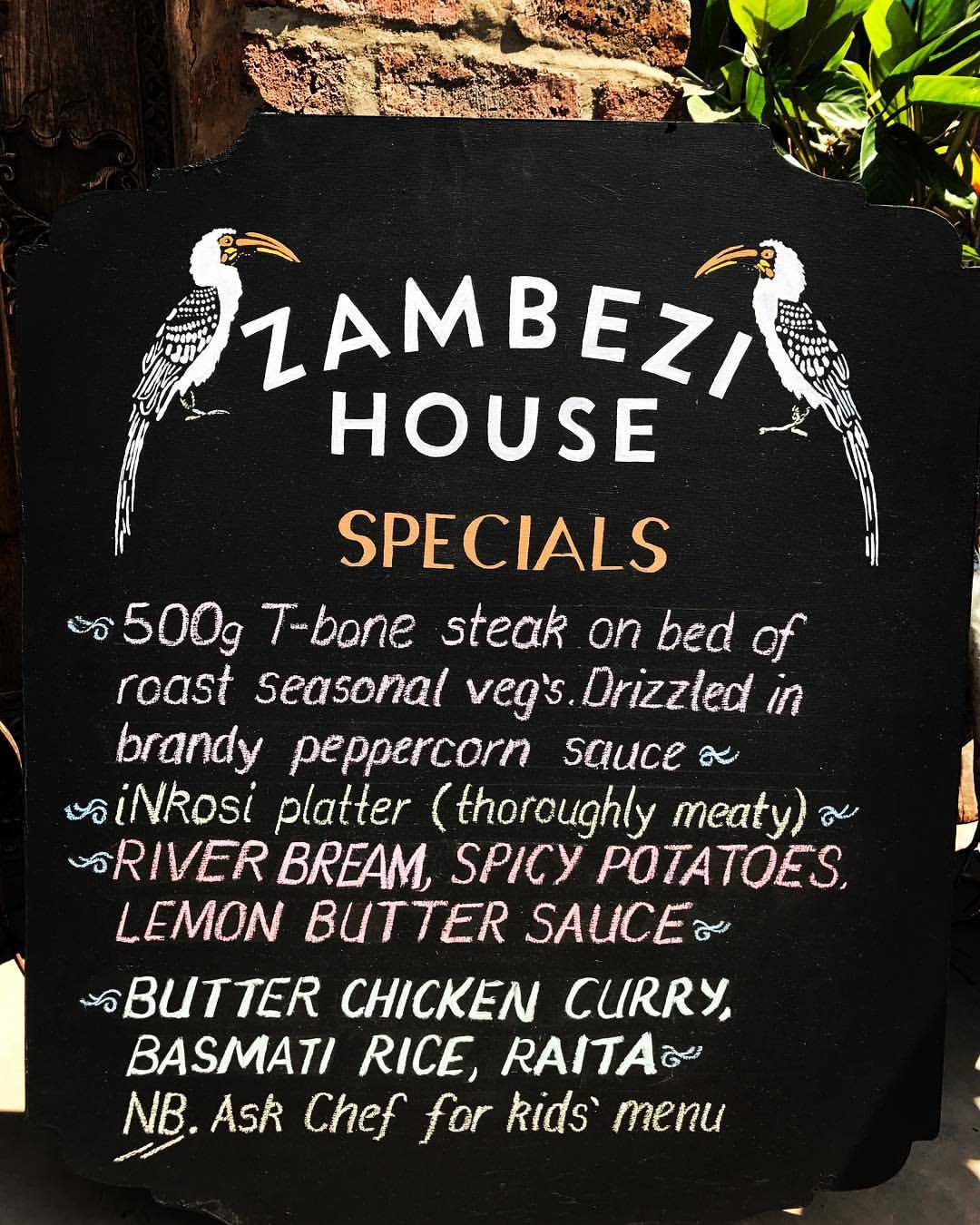 Zam House Specials 11 Sept