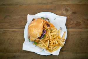 Zambezi House Chicken burger