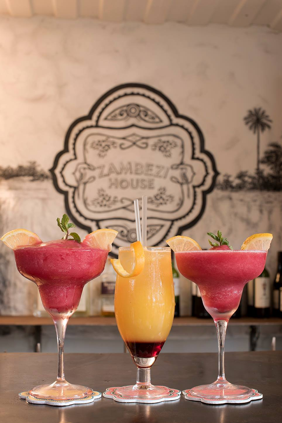Zambezi House Cocktails 7 Sept